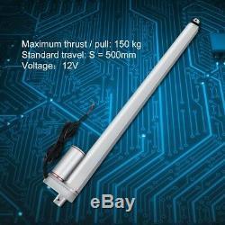 500mm 12VDC Elektrisch Linear Actuator Linearmotor Linearantrieb Elektromotor se