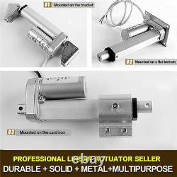 50-1300mm 2-52'' Stroke 12V/24V Motor Heavy Duty Electric Putter Linear Actuator
