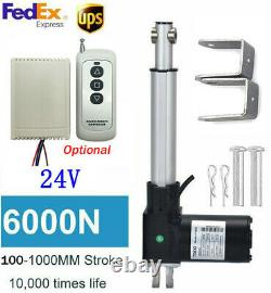 6000N 1320LB Linear Actuator 40 Inch Stroke 1000MM DC 24V Electric Motor Stroke