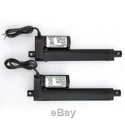 6-30 Inch Stroke Linear Actuator 900N/225lbs Pound Max Lift 12V Volt DC Motor