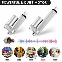 800mm 950mm 1000mm 1200mm DC 12V Linear Actuator Motor 2000N Remote Controller
