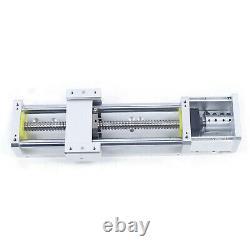 8/12'' Cross Sliding Table Linear Module Stage Rail Ballscrew Z-Axis Motorized