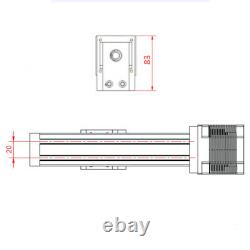 900mm CNC Linear Motion Rail Guide Slide Stage Actuator Ball Screw Table Motor