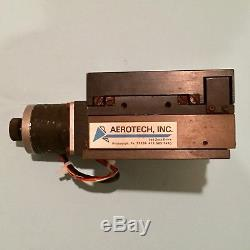 AEROTECH LINEAR STAGE with RAPIDSYN 23H-502 12 VDC STEPPING MOTOR