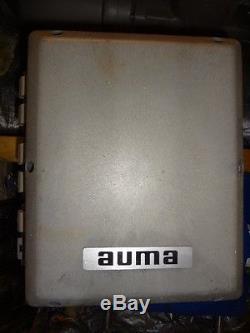 AUMA Actuator Model SA07.1 with Motor 102125.00 U4C34NZ8C with RF Pinch Valve
