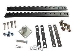 Adjustable Travel 12V DC Rack & Pinion Linear Actuator, Gate, Door, Slider Motor