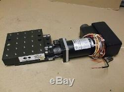 Aerotech ATS03005 Linear Stage Positioner with Aerotech 51024 Servo Motor