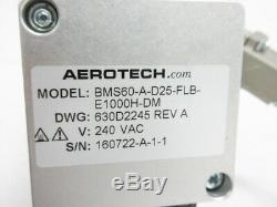 Aerotech Pro115 Pro115-05mm-300-uf Linear Stage & Motor Ensemble Cp10 Controller