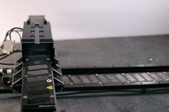 Anorad Brushless Linear Servo Motor Xy Stage 1000 X 400mm Renishaw Encoders