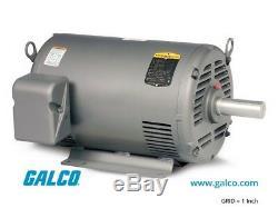 Baldor motor 1HP 1725RPM Reversible 208-230V/460V #M3116 NIB