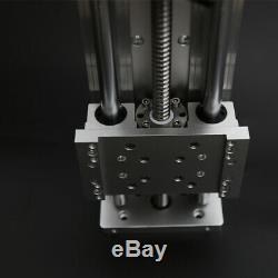 Ball Screw Linear CNC Slide Stroke 200mm Long Stage Actuator +Stepper motor Base