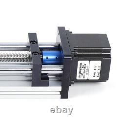 Ball Screw Linear Rail Motion Guide Slide Table +23NEMA Stepper Motor 100-300mm