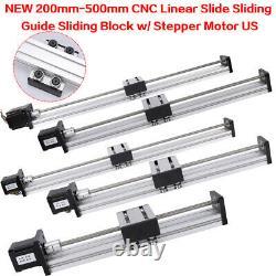 Ball Screw Linear Stage 42/57 Stepper Motor CNC Slide Stroke 200-1000mm Actuator