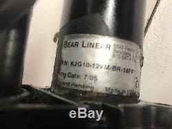 Bear Linear K2GG10-12VM 18 Stroke Hatch lift motor Actuator Fountain