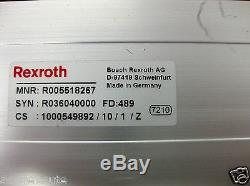 Bosch Rexroth Linear Actuator R005518267 Servo Motor Indramat Ecodrive DKC01.3