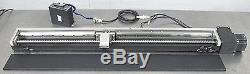 C107829 Motorized Ball Screw Linear Positioner with Vexta 5-Phase Motor & Driver