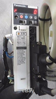 C121646 Ball Screw Linear Positioning Stage, Panasonic 100W Servo Motor & Driver