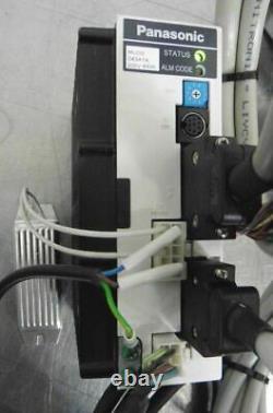 C121696 Ball Screw Linear Positioning Stage, Panasonic 400W Servo Motor & Driver