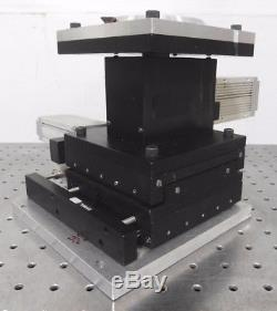 C140274 Oriel XYZ Linear Positioning Stage with(3) StepperMike Motorized Actuators
