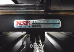C141080 NSK XY Vexta Motorized Ball Screw Linear Positioning Stage (415 x 425mm)