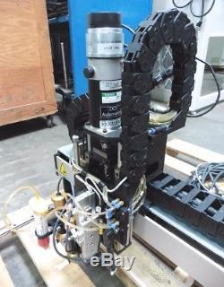 C142603 DCI XYZ 3-Axis Motorized Positioning Stage with Epoxy Dispensing System