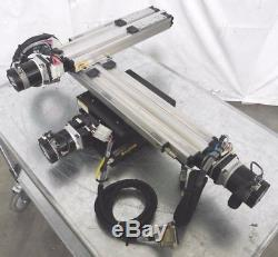 C145212 Parker 802-5137J Motorized Linear Positioning Stage, 25x215x365mm Travel