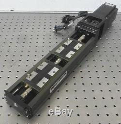 C156504 THK LM Guide Actuator KR46 Linear Stage, Sanyo Denki AC Servo Motor 400W