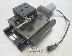 C160890 Daedal Motorized Linear Positioning + Newport 420 XY Micrometer Stage