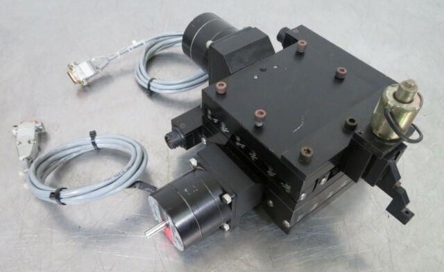 C161137 Daedal X-y Motorized Linear Positioning Stage (60mm Travel) Vexta Motors