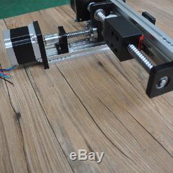 CNC Ball Screw Linear XY Stage Slide Motion Actuator Motorized Nema 23
