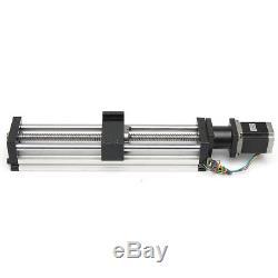 CNC Linear Slider Motion Ball Screw + Nema23 Stepper Motor 300MM Slide Stroke
