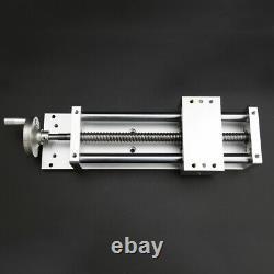 CNC XYZ Axis Manual Sliding Table Motorized Linear Stage SFU1605 Ballscrew 1605