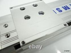 Cartesian Robot Actuator 135mm stroke for 100W Servo Motor LM System CNC Route