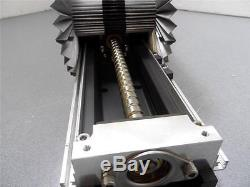 Control Techniques Servo Motor With IKO 27 Precision Linear Positioning Table