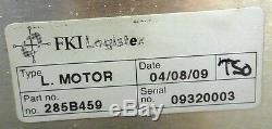 Crisplant Linear Motor, 285b459, Knud Overgaard, 283b038 13853