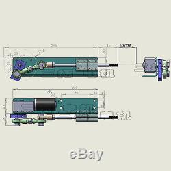 Custom 1PCS DC24V Stroke 50mm Linear Actuator Reciprocating Motor For DIY Design