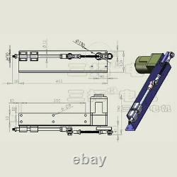 Customized WF-25W Stroke 40-100mm AC220V 25W Reciprocating Motor Linear Actuator