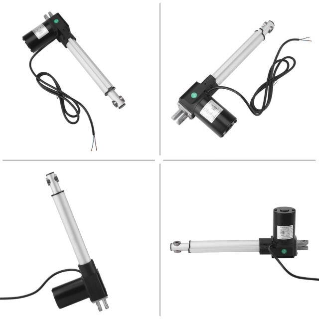 Dc12v 6000n Linear Actuator Stroke Electric Motor For Medical Auto Car 200mm Hot