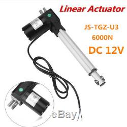 DC12V 6000N Linear Actuator Stroke Electric Motor for Medical Auto Car 200mm New