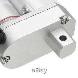 DC12V Linear Actuator +Brackets 1500N/150kg 330LB Max Lift Auto Motor 5.7mm/s