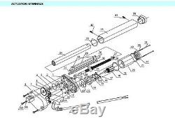 DC 12V/24V Electric Motor Heavy Duty Linear Actuator Storke 50mm1200mm For DIY