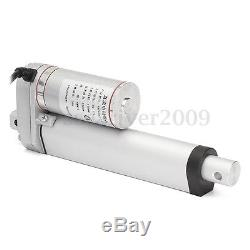 DC 12V 4-18'' 150kg Linear Actuator 330lbs Pound Lift Electric Motor Door Opener