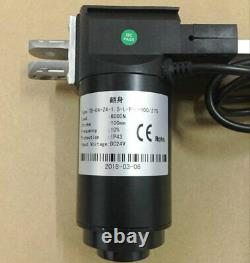 DC 12V Linear Actuator 1320lbs Remote Controller Motor 6000N Lift 16''-1000inch