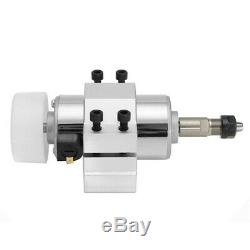 DC 48V 300W High Speed Spindle Motor ER11A Collect with 52mm Clamps For CNC Mach