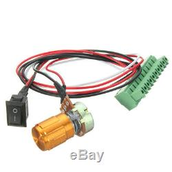 DC 48V 500W ER11 Brushless Spindle Motor Driver Speed Controller For CNC Machine