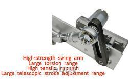 DIY Design Telescopic Reciprocating Linear Actuator Motor 30mm-150mm 95rpm120rpm