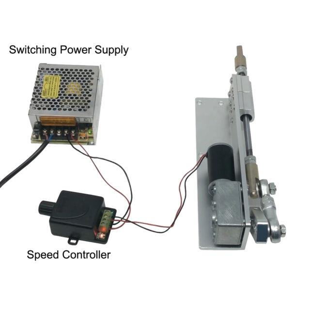 Diy Driver Cycle Motor 12v/24v Speed Controller, Reciprocating Linear Actuator