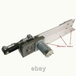 DIY Linear Actuator 12V 24V Reciprocating Motor 30-150mm Stroke 45/95/120rpm