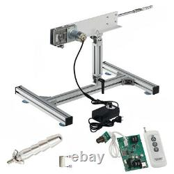 DIY Reciprocating Cycle Linear Actuator with DC Motor 24V 120rpm Stroke 150mm