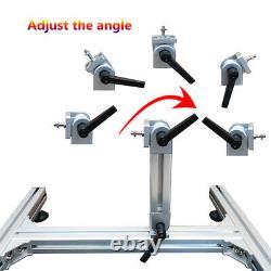 DIY Reciprocating Linear Actuator Motor Adjustable Stroke 1.2inch-6.3inch 120rpm